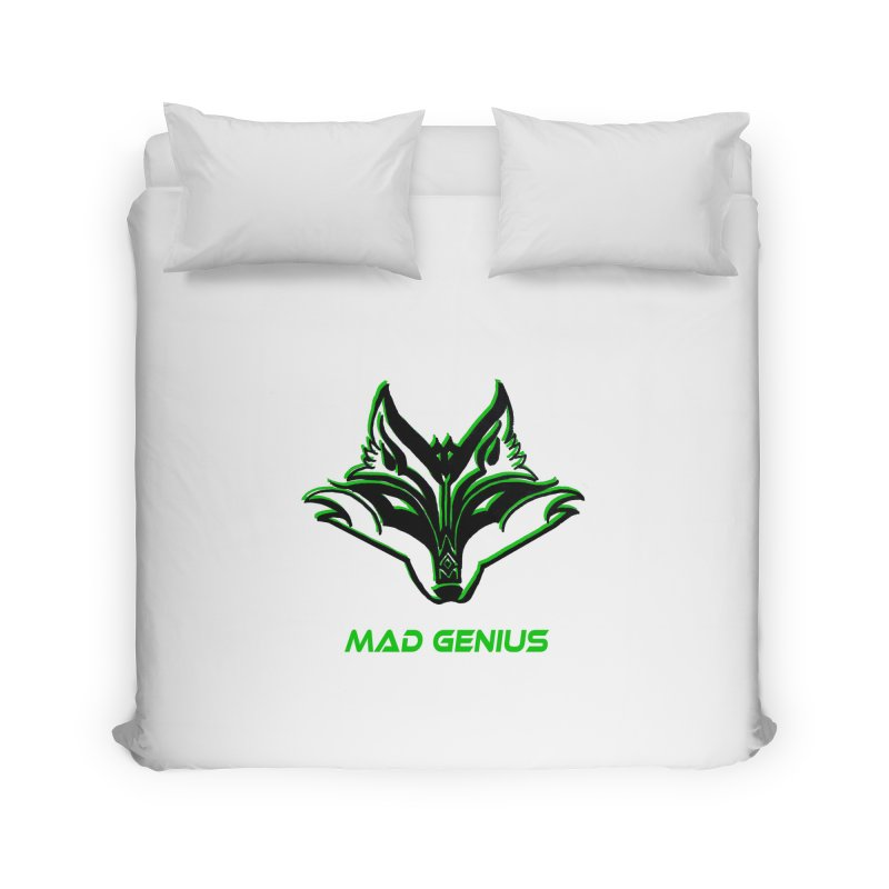 Mad Genius Fox MG Home Duvet by The Mad Genius Artist Shop