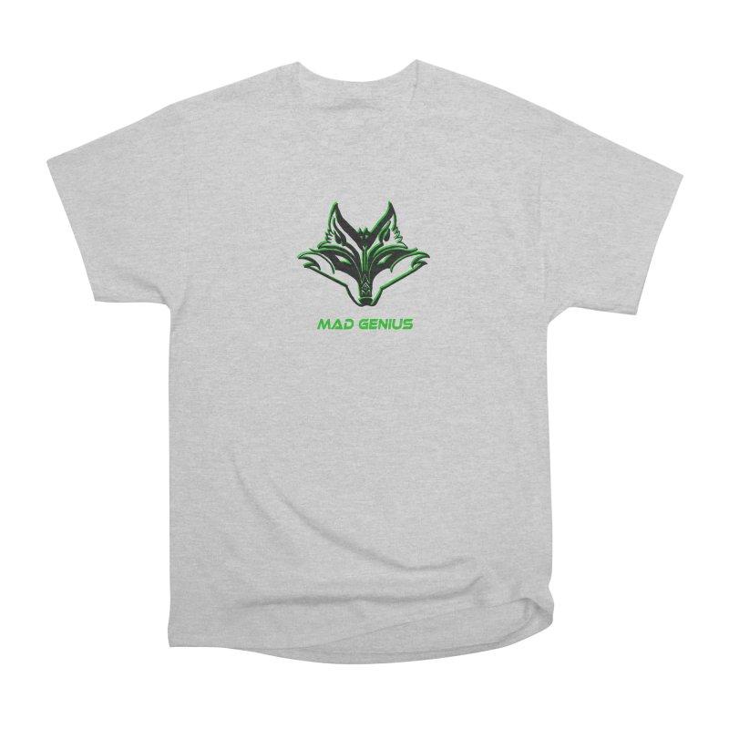 Mad Genius Fox MG Men's Heavyweight T-Shirt by The Mad Genius Artist Shop