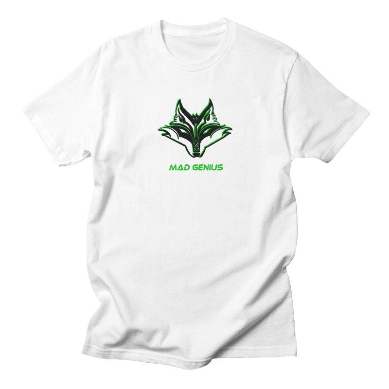 Mad Genius Fox MG Women's Regular Unisex T-Shirt by The Mad Genius Artist Shop