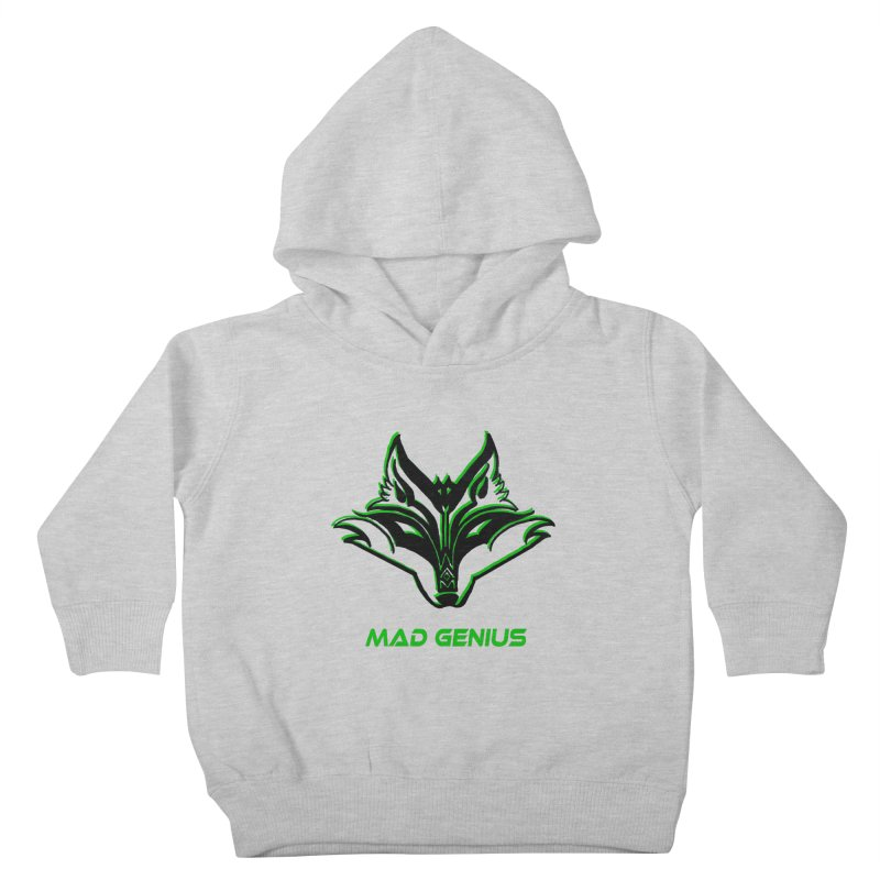 Mad Genius Fox MG Kids Toddler Pullover Hoody by The Mad Genius Artist Shop