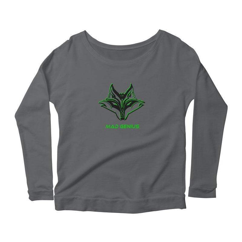 Mad Genius Fox MG Women's Longsleeve T-Shirt by The Mad Genius Artist Shop