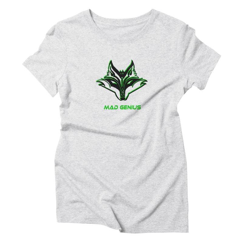Mad Genius Fox MG Women's T-Shirt by The Mad Genius Artist Shop