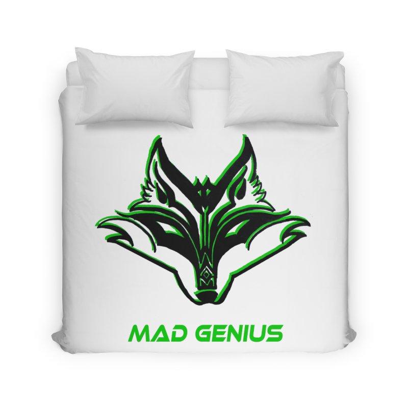 Mad Genius Fox MG Home Duvet by The Mad Genius Artist Shop