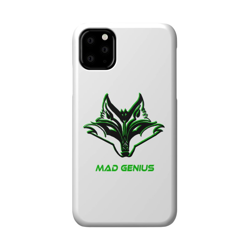 Mad Genius Fox MG Accessories Phone Case by The Mad Genius Artist Shop