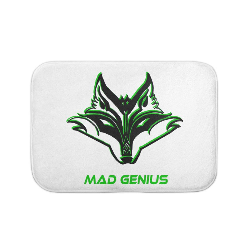 Mad Genius Fox MG Home Bath Mat by The Mad Genius Artist Shop