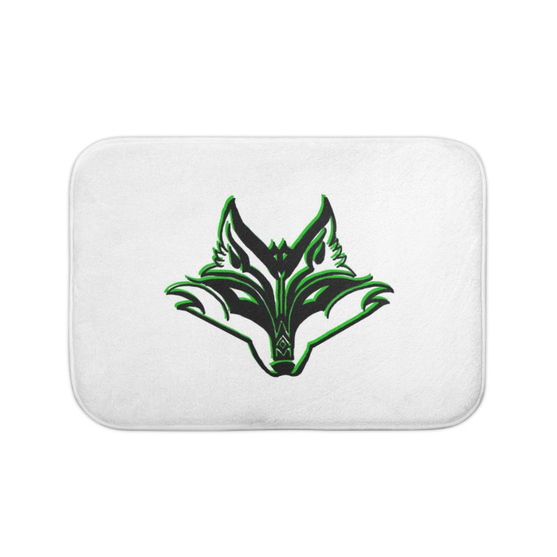Mad Genius Fox Home Bath Mat by The Mad Genius Artist Shop