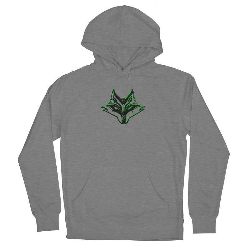 Mad Genius Fox Women's Pullover Hoody by The Mad Genius Artist Shop