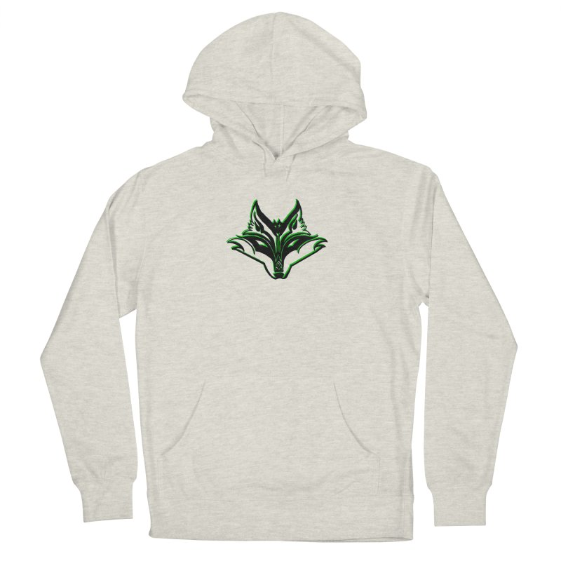 Mad Genius Fox Women's French Terry Pullover Hoody by The Mad Genius Artist Shop