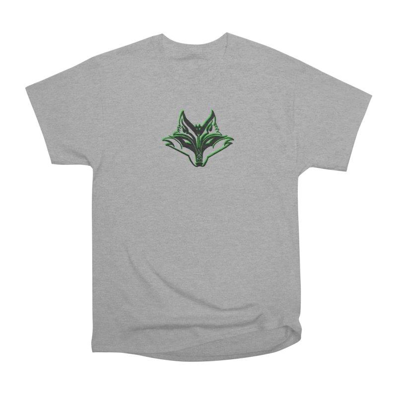 Mad Genius Fox Men's Heavyweight T-Shirt by The Mad Genius Artist Shop