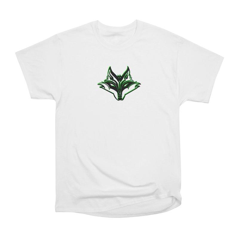 Mad Genius Fox Women's Heavyweight Unisex T-Shirt by The Mad Genius Artist Shop