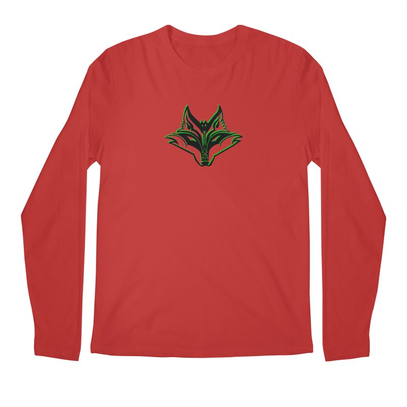 Mad Genius Fox Men's Longsleeve T-Shirt by The Mad Genius Artist Shop