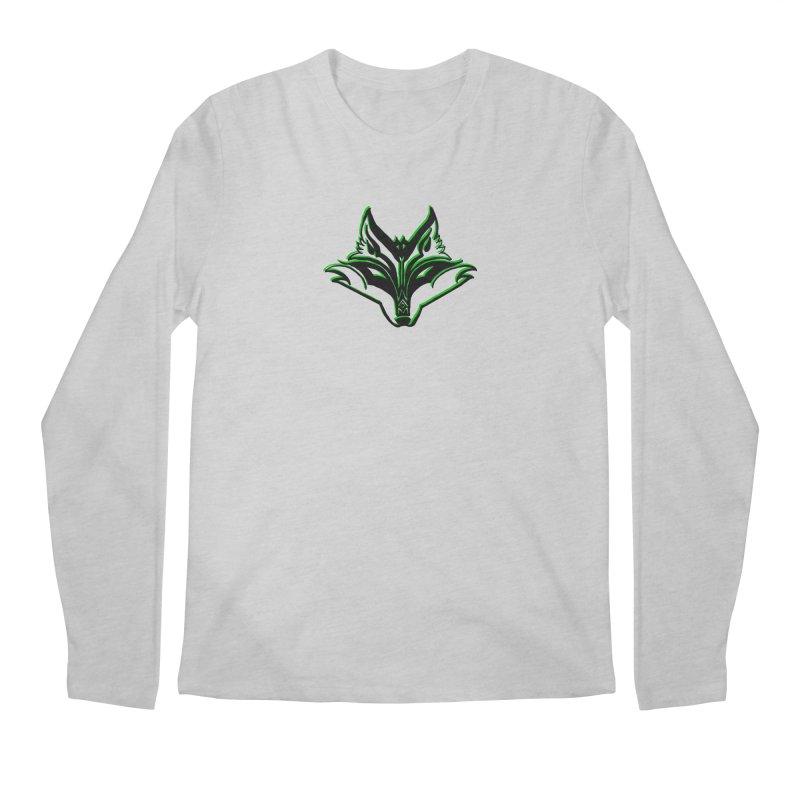 Mad Genius Fox Men's Regular Longsleeve T-Shirt by The Mad Genius Artist Shop