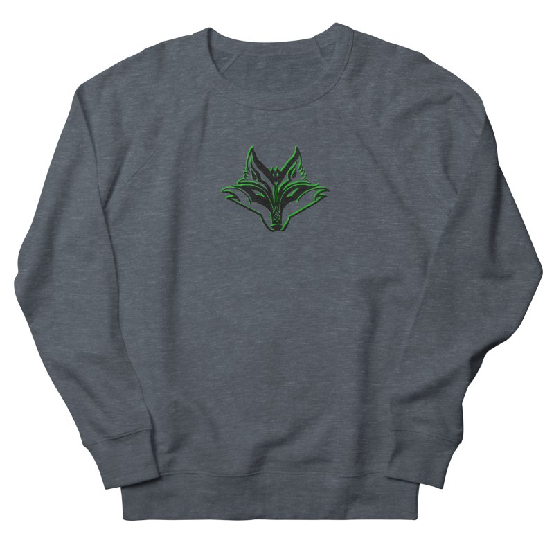 Mad Genius Fox Women's French Terry Sweatshirt by The Mad Genius Artist Shop