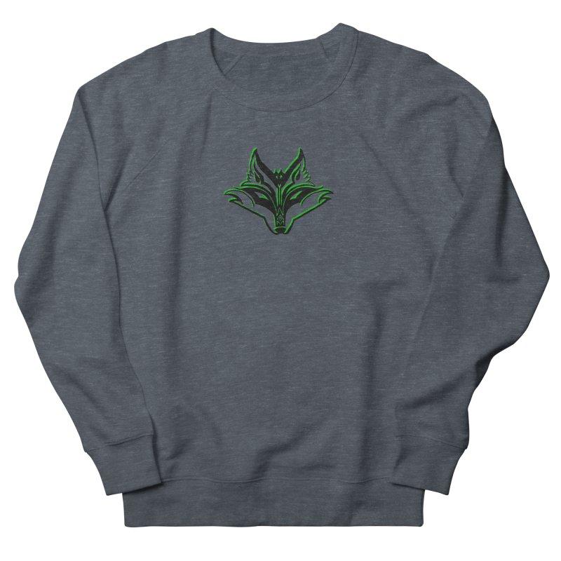 Mad Genius Fox Men's French Terry Sweatshirt by The Mad Genius Artist Shop
