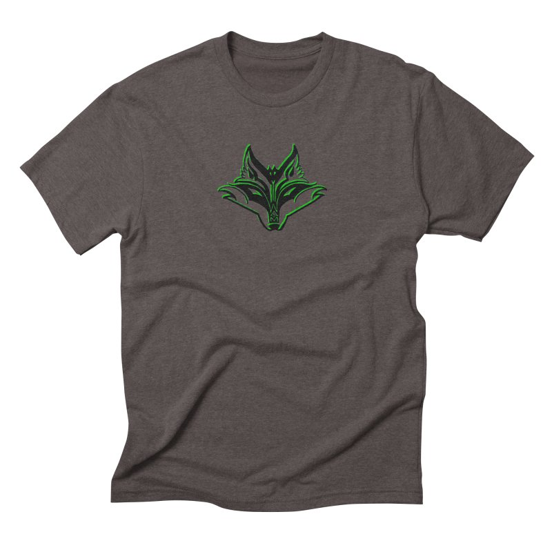 Mad Genius Fox Men's Triblend T-Shirt by The Mad Genius Artist Shop