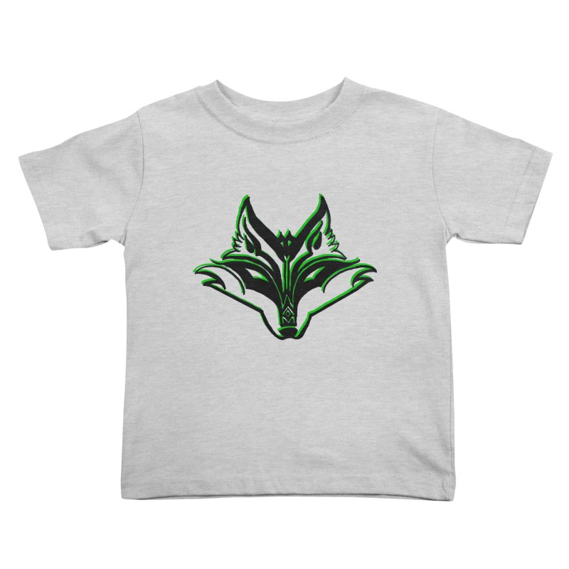 Mad Genius Fox Kids Toddler T-Shirt by The Mad Genius Artist Shop