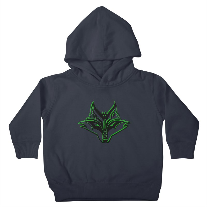 Mad Genius Fox Kids Toddler Pullover Hoody by The Mad Genius Artist Shop