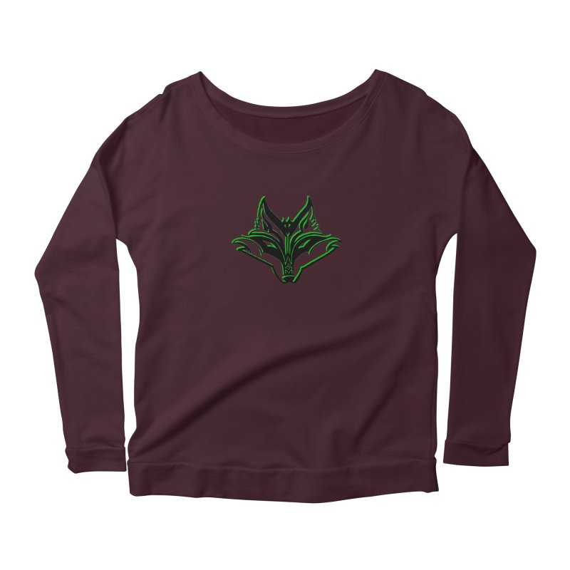 Mad Genius Fox Women's Longsleeve T-Shirt by The Mad Genius Artist Shop