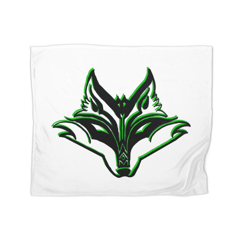 Mad Genius Fox Home Blanket by The Mad Genius Artist Shop