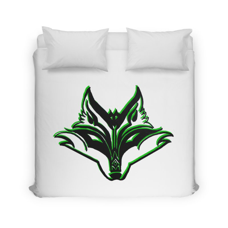 Mad Genius Fox Home Duvet by The Mad Genius Artist Shop