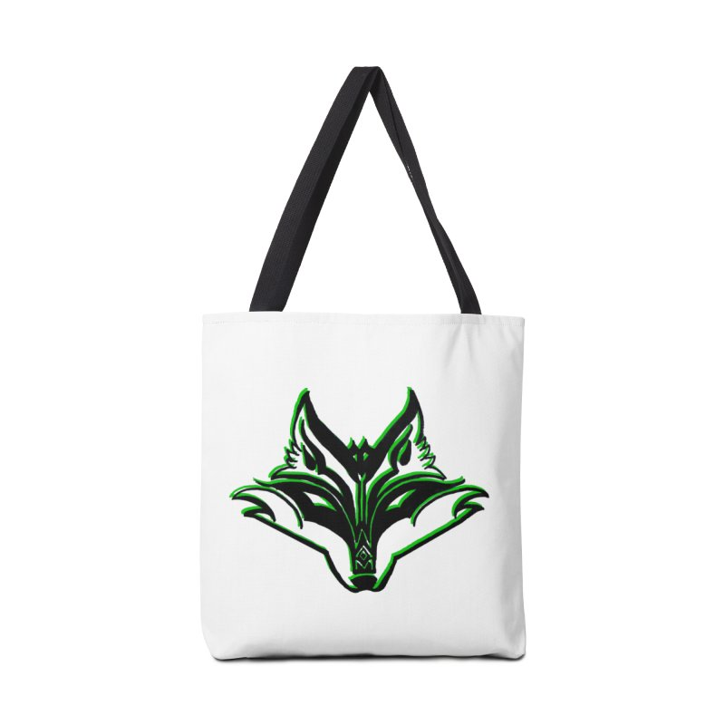 Mad Genius Fox Accessories Tote Bag Bag by The Mad Genius Artist Shop