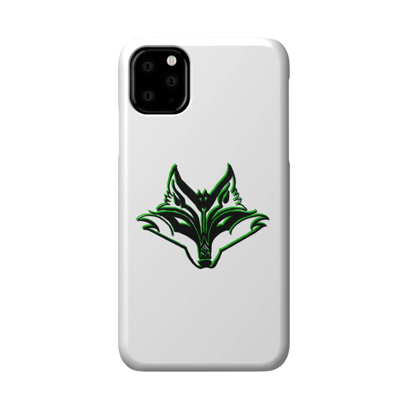 Mad Genius Fox Accessories Phone Case by The Mad Genius Artist Shop