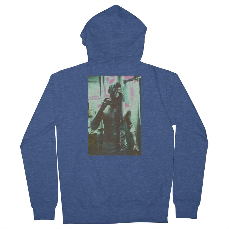 Mad Genius Phin Men's French Terry Zip-Up Hoody by The Mad Genius Artist Shop
