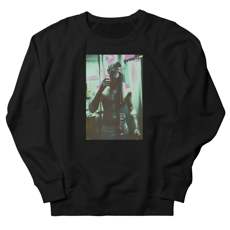 Mad Genius Phin Men's French Terry Sweatshirt by The Mad Genius Artist Shop