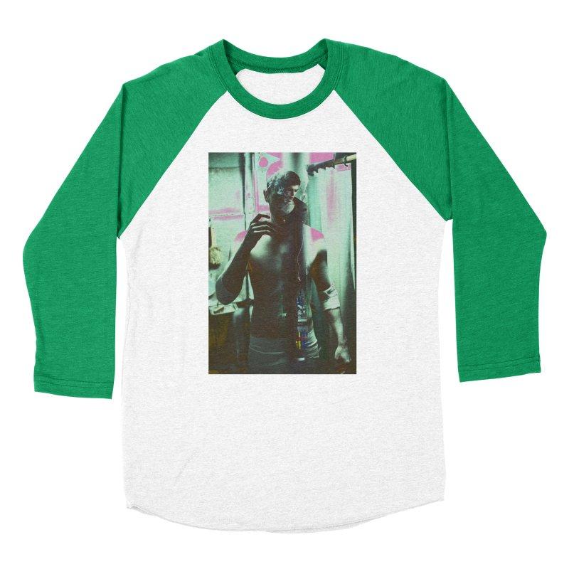 Mad Genius Phin Women's Baseball Triblend Longsleeve T-Shirt by The Mad Genius Artist Shop