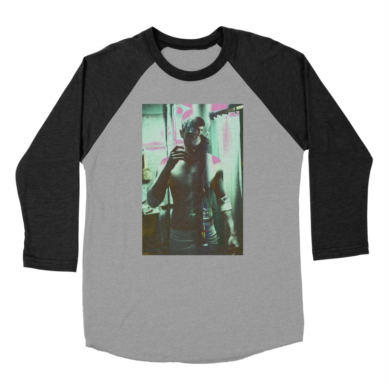 Mad Genius Phin Men's Baseball Triblend Longsleeve T-Shirt by The Mad Genius Artist Shop