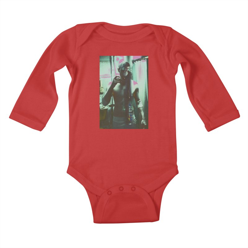Mad Genius Phin Kids Baby Longsleeve Bodysuit by The Mad Genius Artist Shop