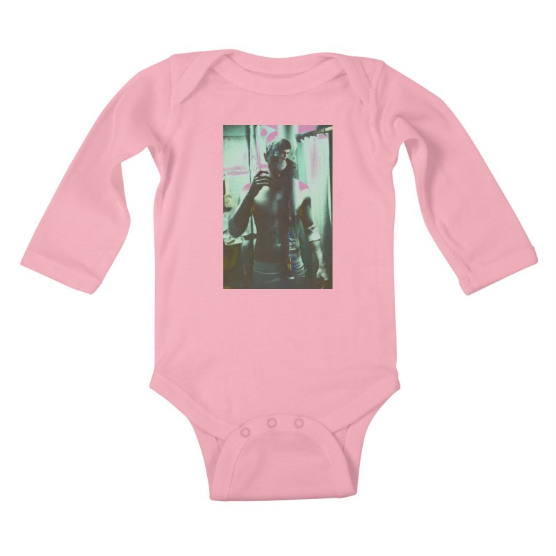 Mad Genius Phin Kids Baby Longsleeve Bodysuit by The Mad Genius Artist Shop