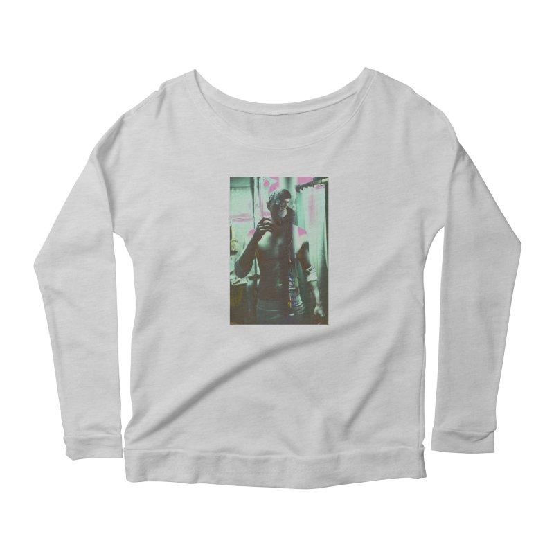 Mad Genius Phin Women's Scoop Neck Longsleeve T-Shirt by The Mad Genius Artist Shop