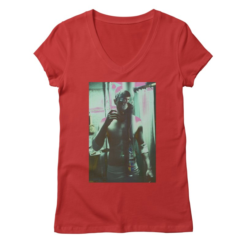 Mad Genius Phin Women's V-Neck by The Mad Genius Artist Shop