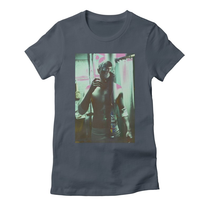 Mad Genius Phin Women's Fitted T-Shirt by The Mad Genius Artist Shop
