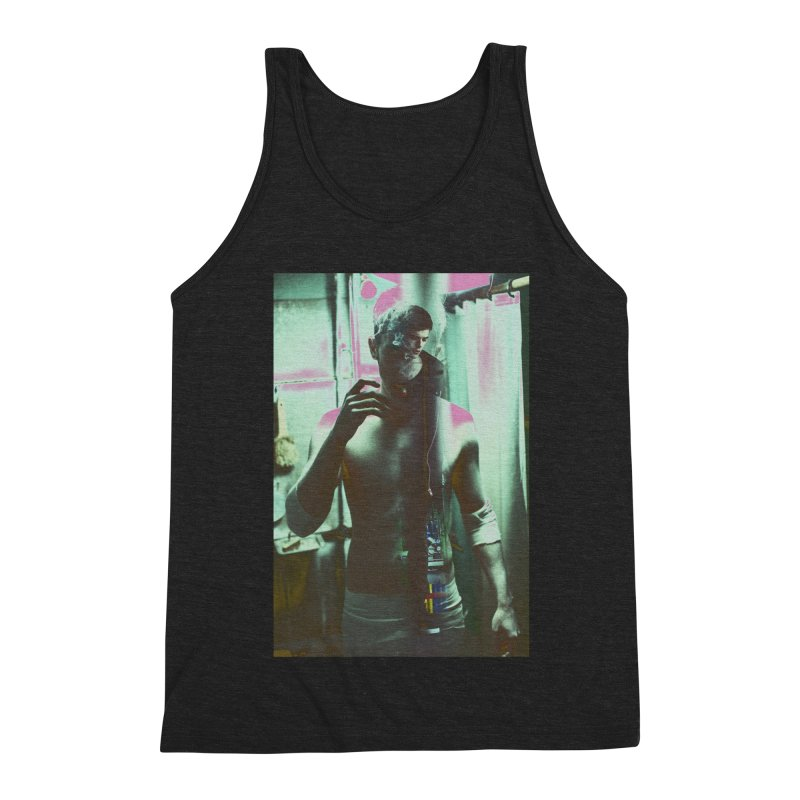 Mad Genius Phin Men's Triblend Tank by The Mad Genius Artist Shop