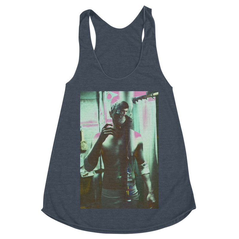 Mad Genius Phin Women's Racerback Triblend Tank by The Mad Genius Artist Shop