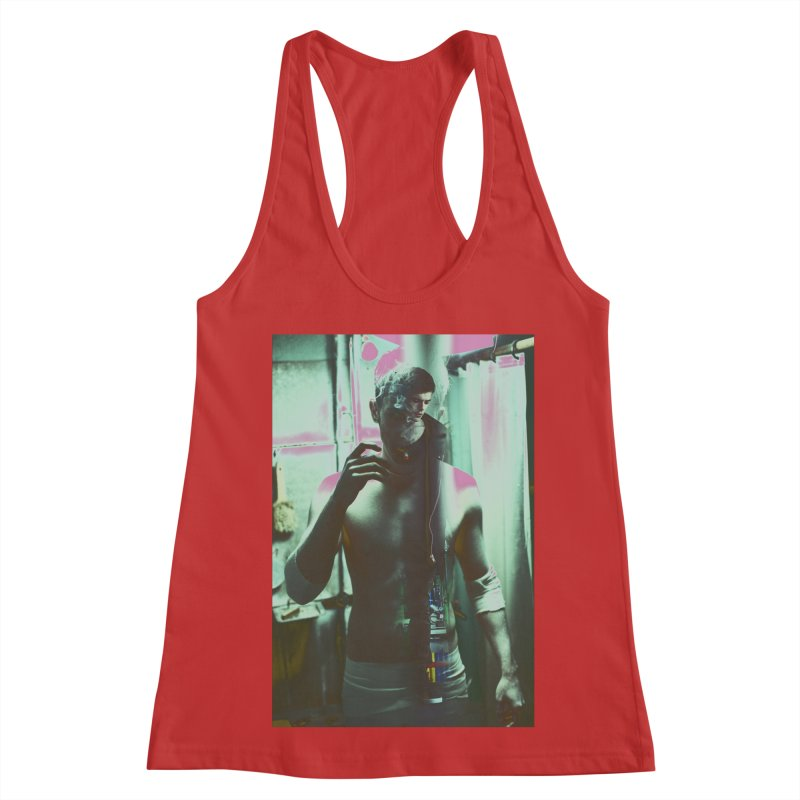Mad Genius Phin Women's Racerback Tank by The Mad Genius Artist Shop