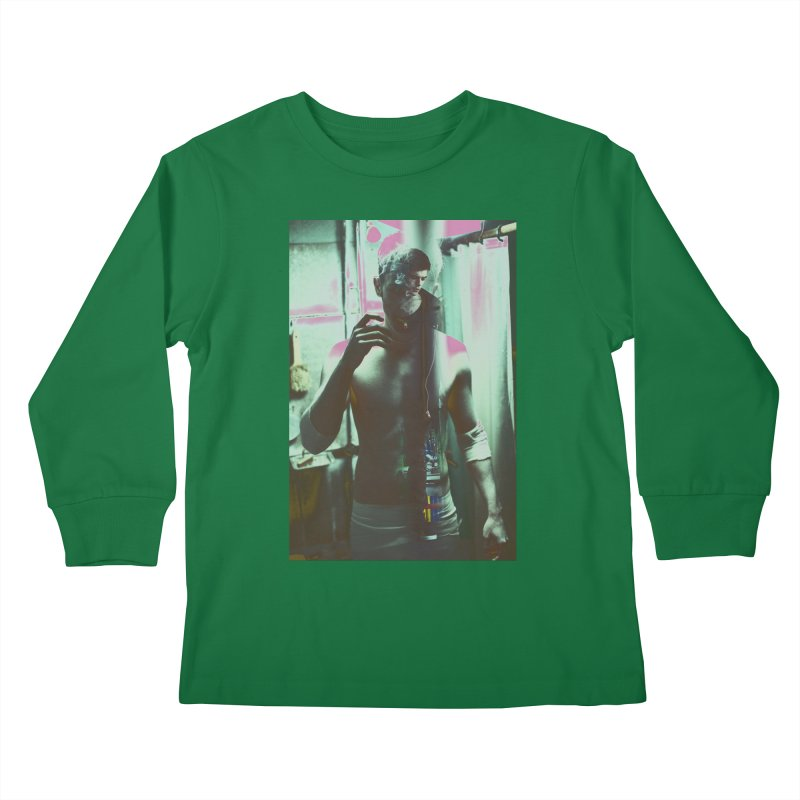 Mad Genius Phin Kids Longsleeve T-Shirt by The Mad Genius Artist Shop