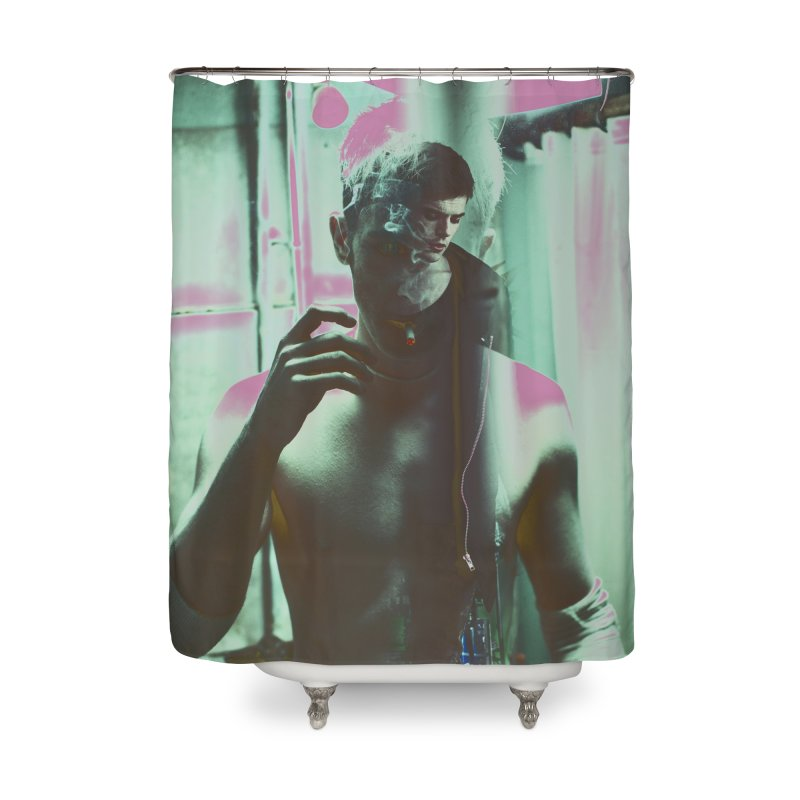 Mad Genius Phin Home Shower Curtain by The Mad Genius Artist Shop