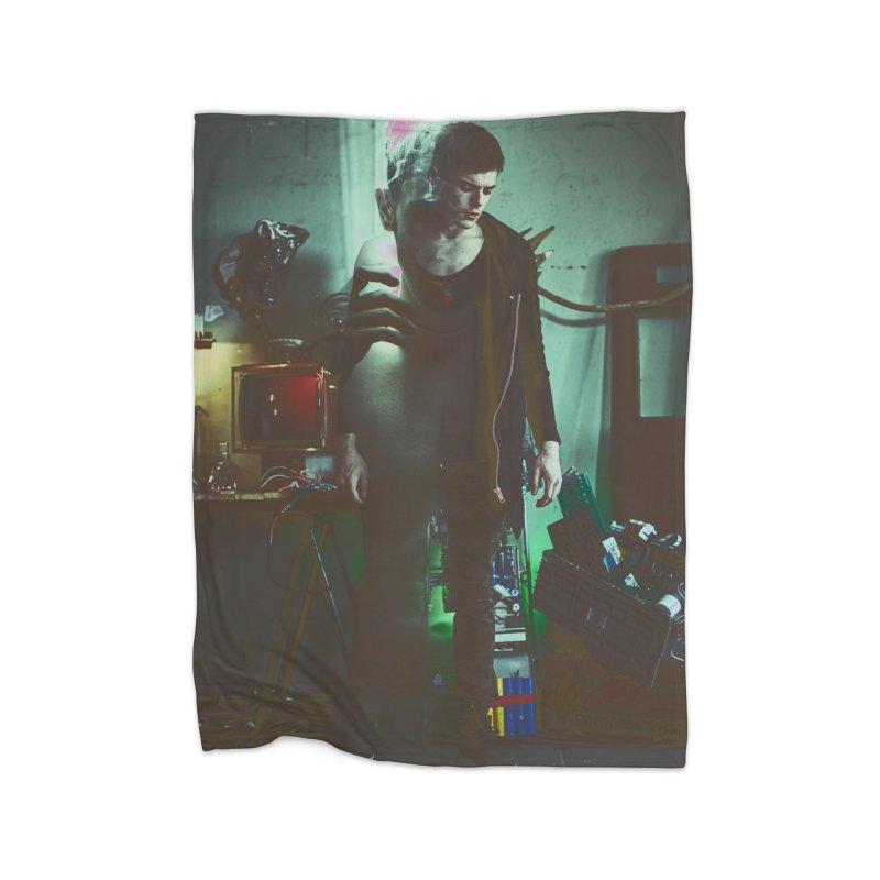 Mad Genius VIX Home Blanket by The Mad Genius Artist Shop