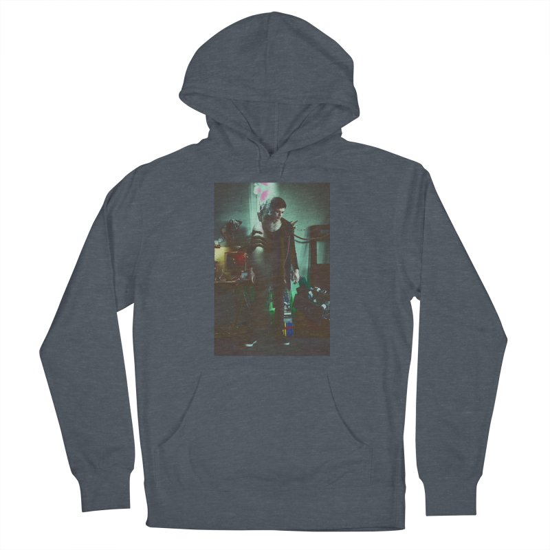Mad Genius VIX Men's French Terry Pullover Hoody by The Mad Genius Artist Shop