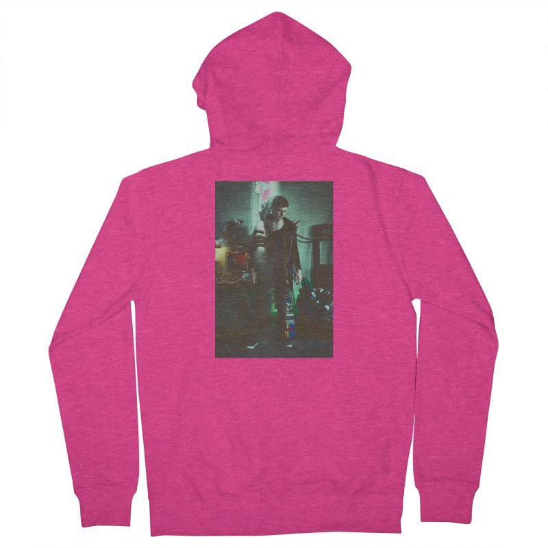 Mad Genius VIX Women's French Terry Zip-Up Hoody by The Mad Genius Artist Shop