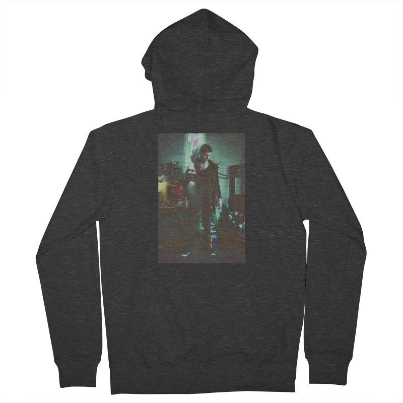 Mad Genius VIX Men's Zip-Up Hoody by The Mad Genius Artist Shop