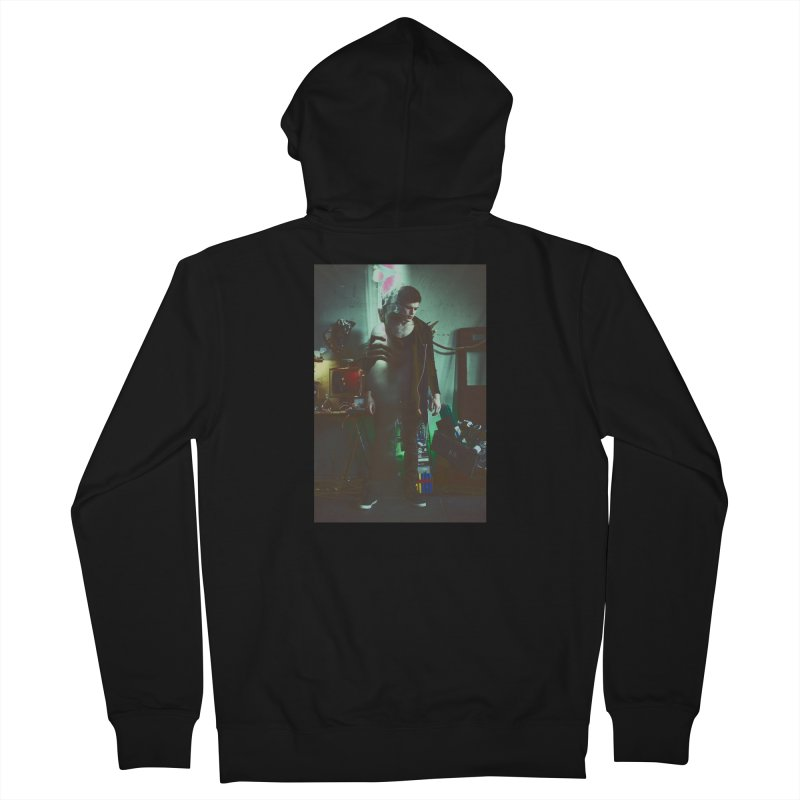 Mad Genius VIX Men's French Terry Zip-Up Hoody by The Mad Genius Artist Shop