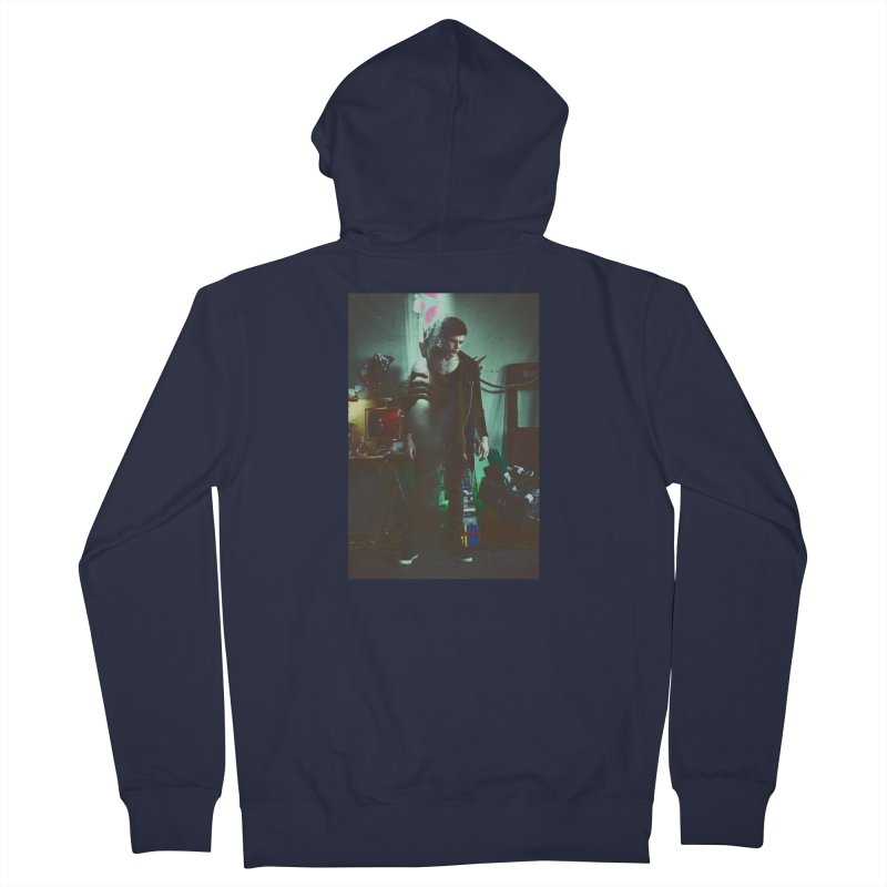 Mad Genius VIX Men's French Terry Zip-Up Hoody by The Mad Genius Artist Shop