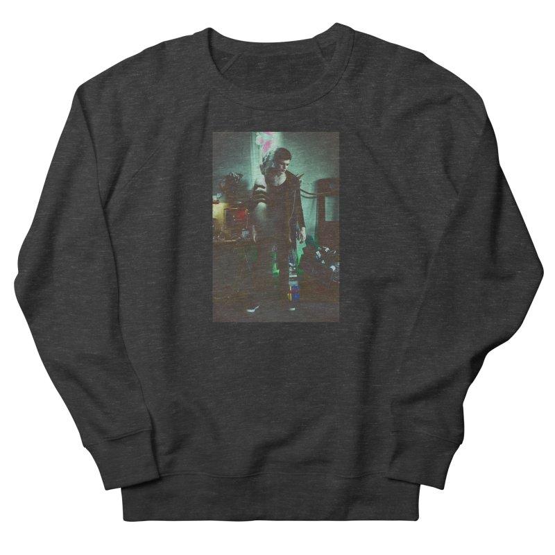 Mad Genius VIX Men's French Terry Sweatshirt by The Mad Genius Artist Shop