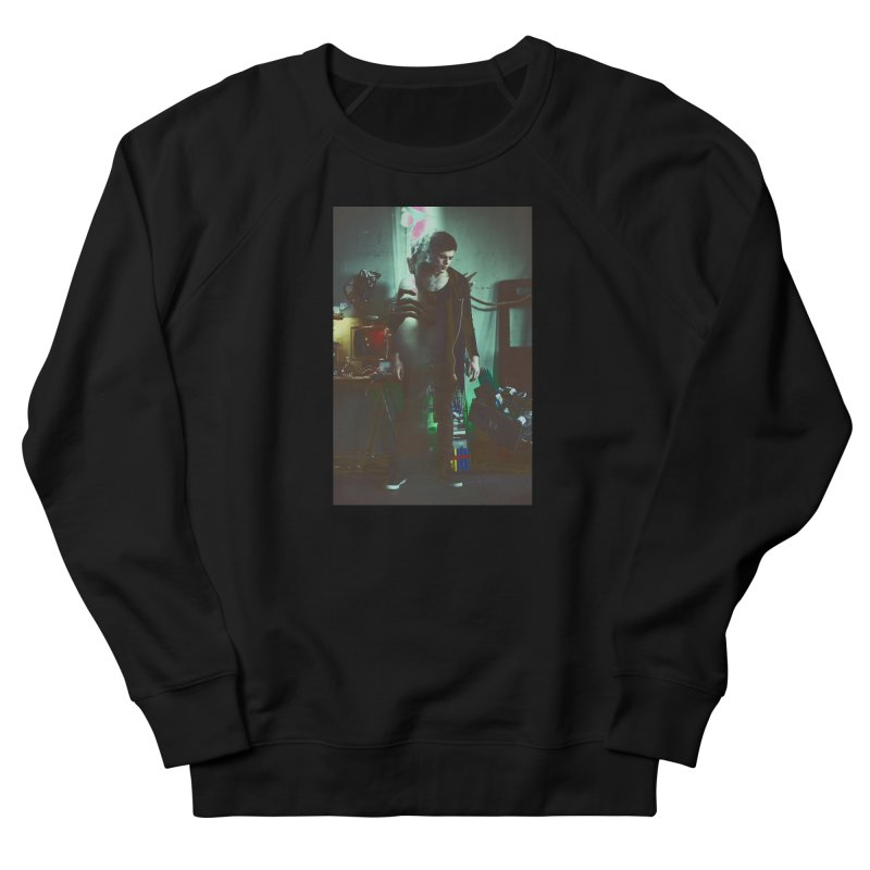 Mad Genius VIX Men's French Terry Sweatshirt by The Mad Genius Artist Shop