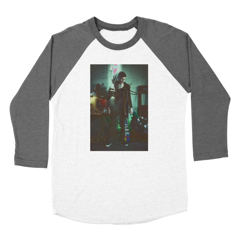 Mad Genius VIX Men's Baseball Triblend Longsleeve T-Shirt by The Mad Genius Artist Shop