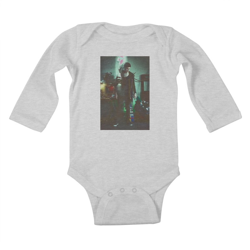 Mad Genius VIX Kids Baby Longsleeve Bodysuit by The Mad Genius Artist Shop